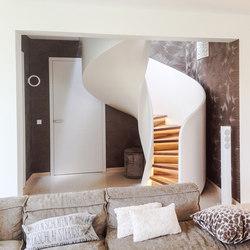 Tornado | Scale di legno vetro | Siller Treppen