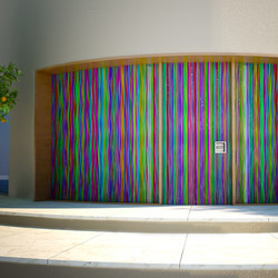 Entrance portal Rainbow | Entrance doors | Siller Treppen