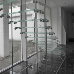Mistral Glass Wall   Staircase systems   Siller Treppen