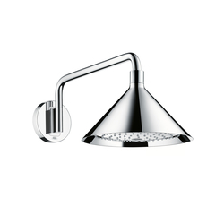AXOR 240 2jet overhead shower with shower arm | Shower controls | AXOR