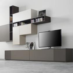 pareti attrezzate 4 mobili contenitori arredo per la casa. Black Bedroom Furniture Sets. Home Design Ideas