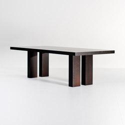 Lof Dining table elephant legs | Dining tables | Van Rossum