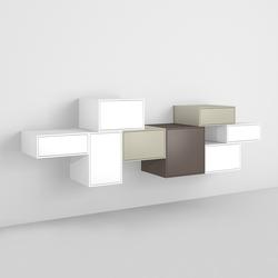 Cubit shelving system | Aparadores | Cubit