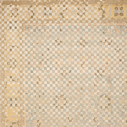 Erased Heritage | Ziegler Prince Checker Raved | Rugs / Designer rugs | Jan Kath