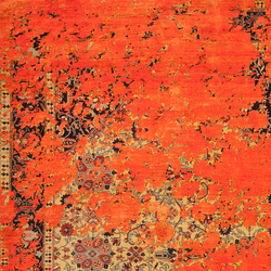 Erased Heritage | Serapi Queensbury Aerial | Rugs | Jan Kath