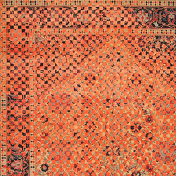 Erased Heritage | Serapi Queensbury Checker Raved | Rugs | Jan Kath