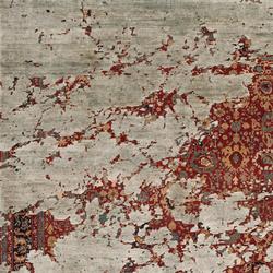 Erased Heritage | Bidjar Aerial | Tappeti / Tappeti d'autore | Jan Kath