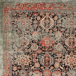 Erased Heritage | Bidjar Piccadilly Pleasure | Rugs / Designer rugs | Jan Kath