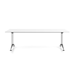 MedaMorph Rectangular meeting table | Individual desks | Vitra
