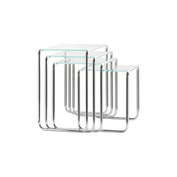 B 9 glass | Nesting tables | Thonet