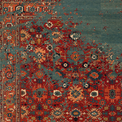Erased Heritage | Bidjar Kingscross Rocked | Rugs / Designer rugs | Jan Kath