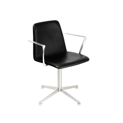 Spinal Chair 44 with swivel base | Sièges visiteurs / d'appoint | Paustian