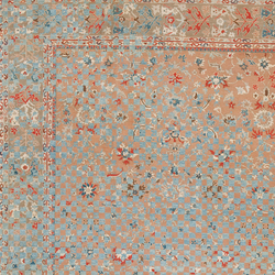 Erased Heritage | Sultanabad Madison Checker Raved | Rugs | Jan Kath