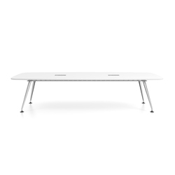 MedaMorph Boat-shaped conference table | Seminar tables | Vitra