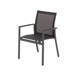 Azore Stacking Chair with Arms | Chairs | Gloster Furniture GmbH
