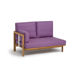 Newport 2-seater add-on-element | Sofas de jardin | Weishäupl