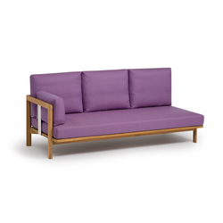 Newport 3-seater add-on-element | Sofas de jardin | Weishäupl