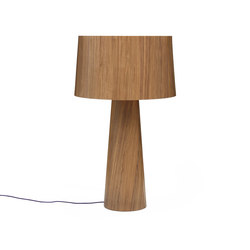 Sophie floor tall walnut | Iluminación general | lasfera
