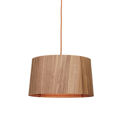 Sophie pending wallnut copper | Suspended lights | lasfera