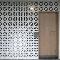 Porous block 200 in-situ | Facade design | Kenzan