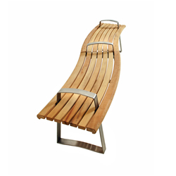 Meko Bench Curved | Panche attesa | Benchmark Furniture