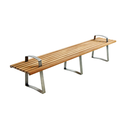 Meko Bench Straight | Waiting area benches | Benchmark Furniture