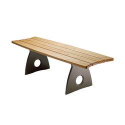 Smart Alex Straight Bench | Exterior benches | Benchmark Furniture