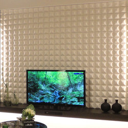 Ichimatsu 100 in-situ | Wall tiles | Kenzan