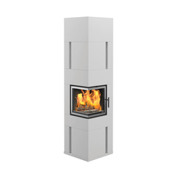 Chicago II High | Wood burning stoves | Nordpeis