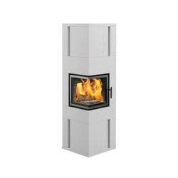 Chicago II Low | Wood burning stoves | Nordpeis