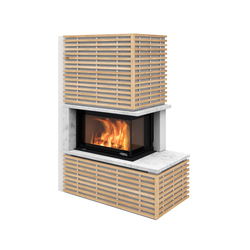 Fargo with oak panels | Wood burning stoves | Nordpeis