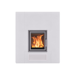 London corner | Wood burning stoves | Nordpeis