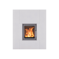 London straight | Wood burning stoves | Nordpeis
