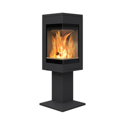 Quadro 1 | Wood burning stoves | Nordpeis