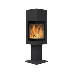 Quadro 1 high top | Wood burning stoves | Nordpeis