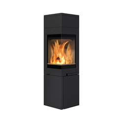 Quadro 2 high top | Wood burning stoves | Nordpeis