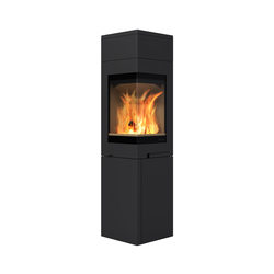 Quadro 3 high top | Wood burning stoves | Nordpeis
