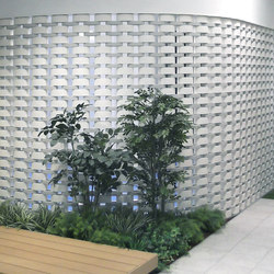 Ceramic screen in-situ | Partitions | Kenzan