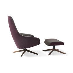 Puk | Lounge chairs con poggiapiedi | Montis
