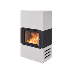 Stockholm Waxed Concrete | Wood burning stoves | Nordpeis