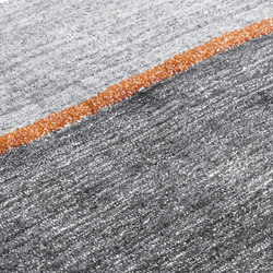 Simple Mag Vol. 1 orange line | Rugs / Designer rugs | Miinu