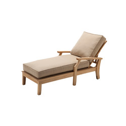 Cape Deep Seating Chaise | Sun loungers | Gloster Furniture