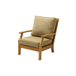 Cape Deep Seating Lounge Chair | Poltrone da giardino | Gloster Furniture