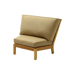 Cape Deep Seating Sectional Wedge Unit | Garden armchairs | Gloster Furniture