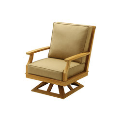 Deep Seating Swivel Rocker | Garden armchairs | Gloster Furniture