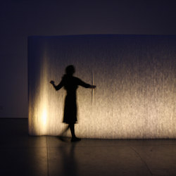 softwall | LED lighting | Separación de ambientes | molo