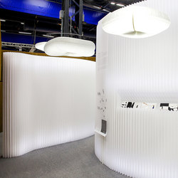 softwall | modified textile | Space dividers | molo