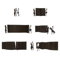 softwall | black paper | Space dividers | molo