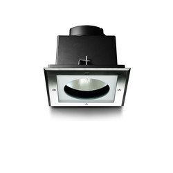 Megazip downlight square | Outdoor recessed ceiling lights | Simes