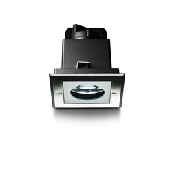 Zip downlight quadrata fluo | Illuminazione generale | Simes